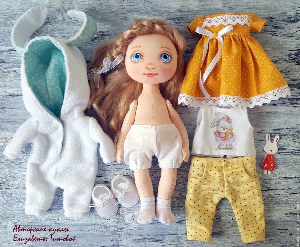 Игровые текстильные куклы для детей своими руками 100