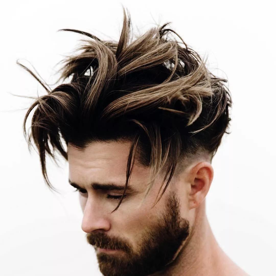 Какую прическу сделать парню для жестких волос7