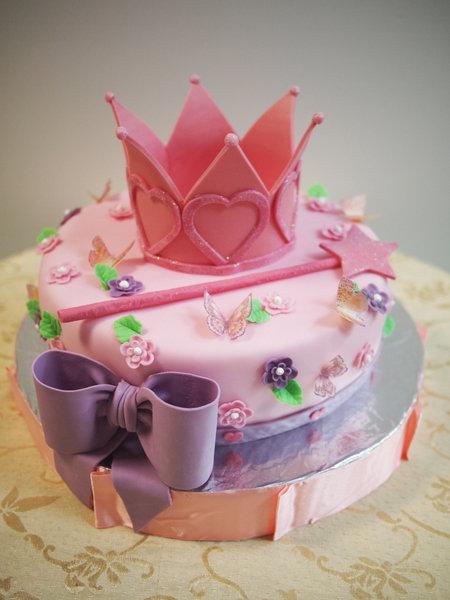 Торты на день рождения девочкеы