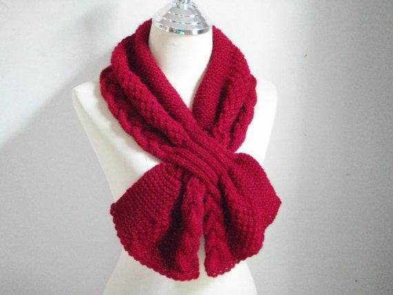 Какими вязками вязать шарфы