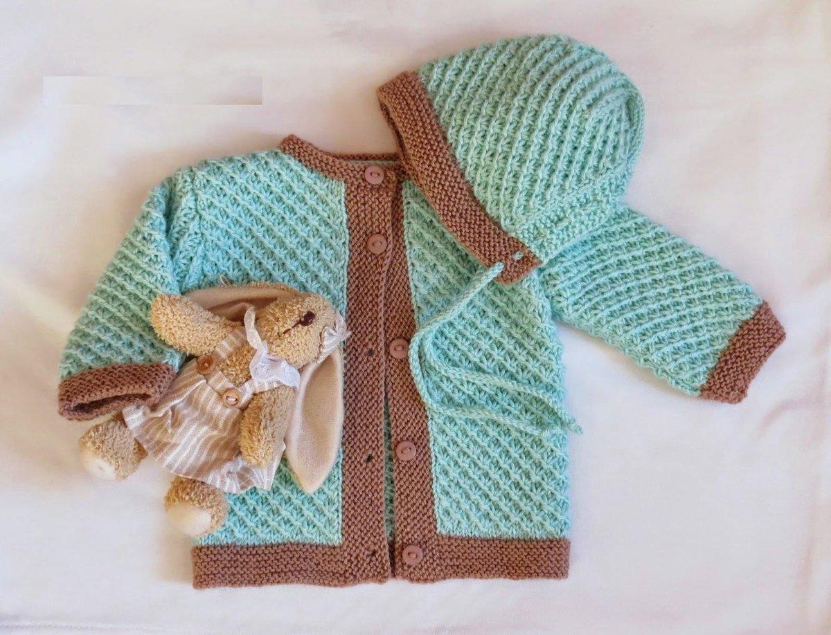 Вязание на спицах новорожденным кофточки 267