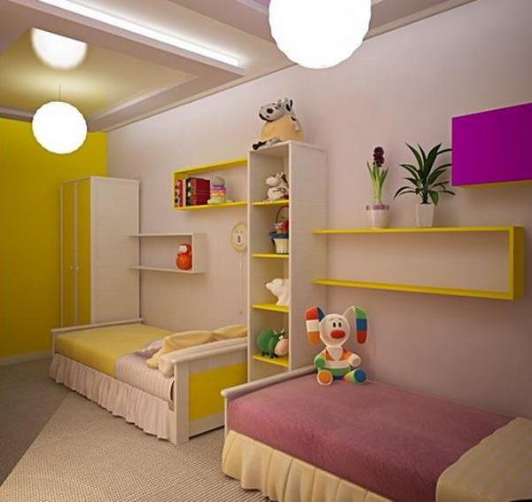 Детские комнаты для двоих детей дизайн в квартире