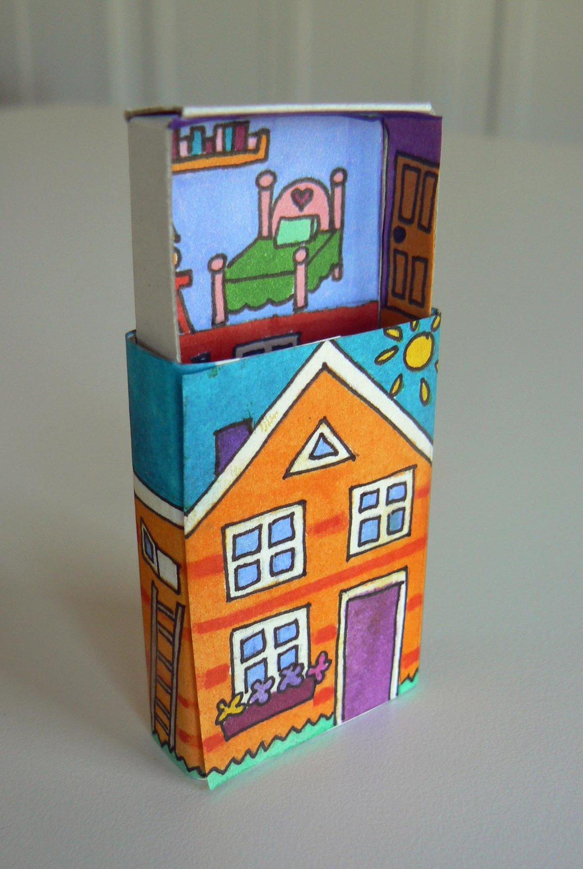 Поделки из спичечных коробков для мальчиков и девочек 76
