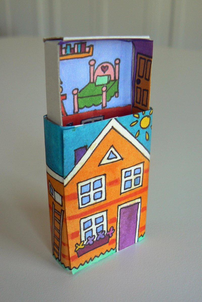 Поделки из коробок с спичками