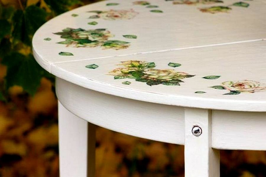 Как сделать декор стол 158