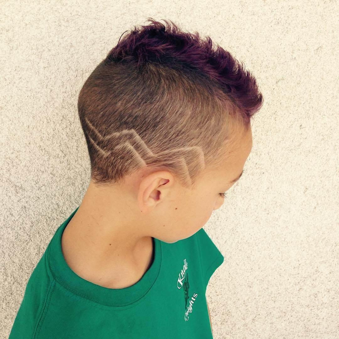 Как сделать прическу с короткими волосами для мальчиков