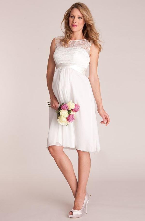 Платье для свадьбы беременным 94