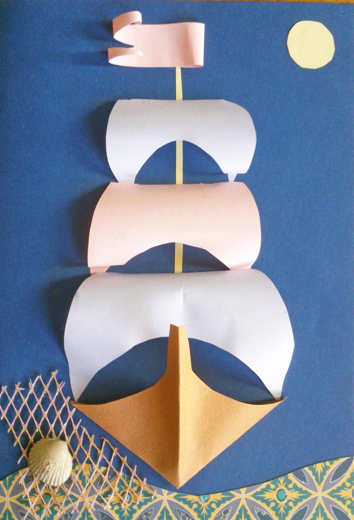 Как сделать кораблик из бумаги, интересные идеи 66
