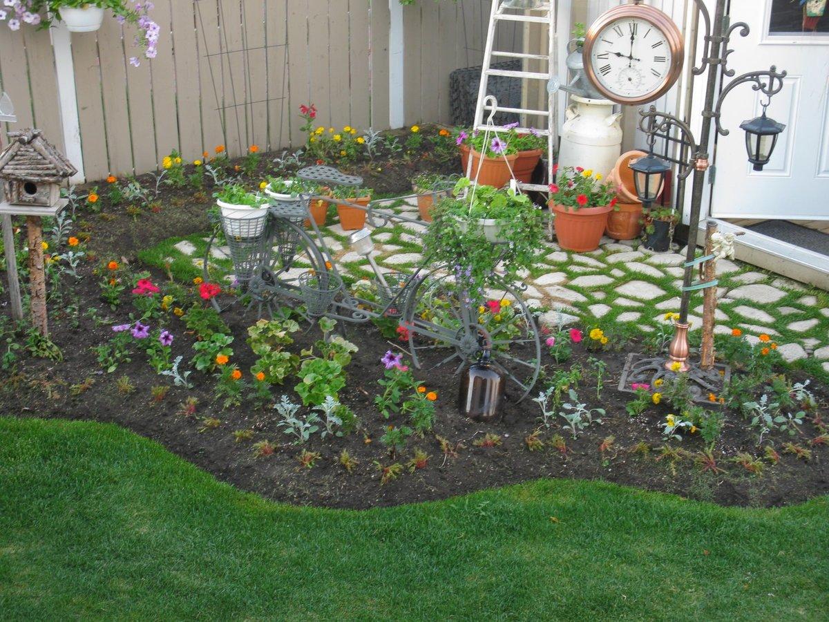 Дизайн садовый участок своими руками фото 49