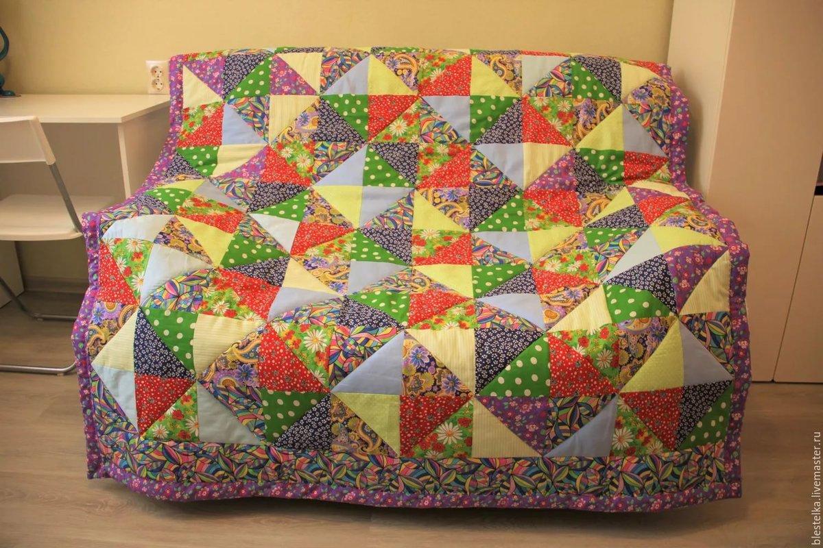 Лоскутное шитье одеяло своими руками 2