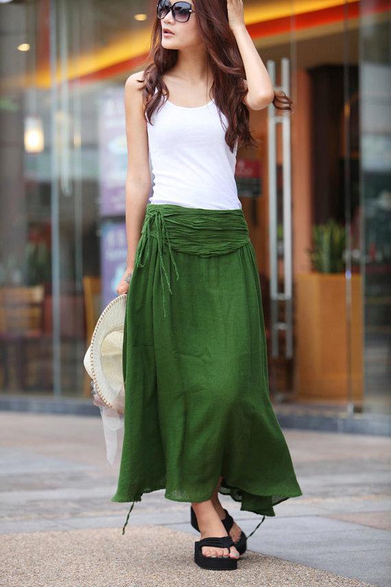 Своими руками юбку зеленые 998