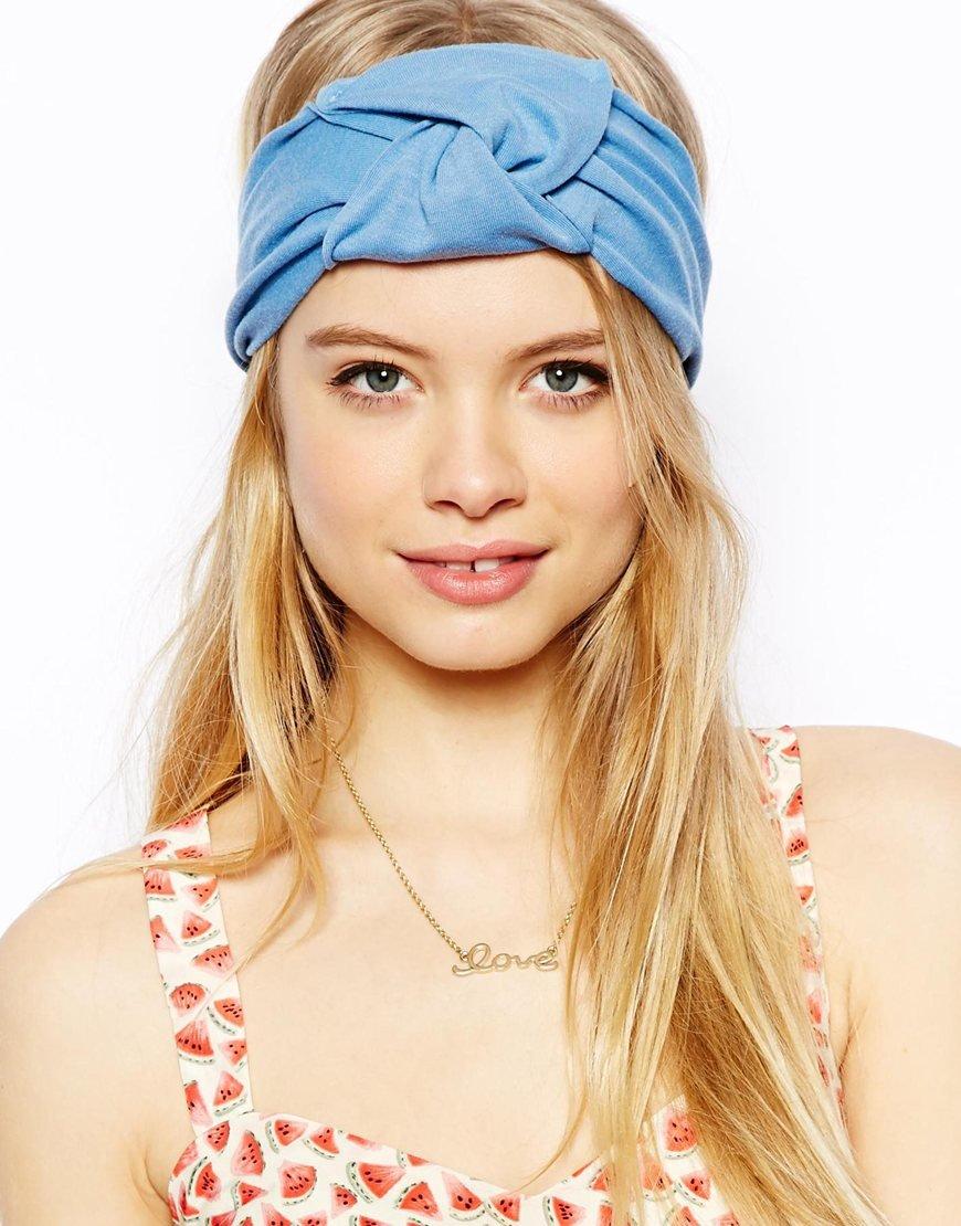 Летние повязки на голову для женщин своими руками 87