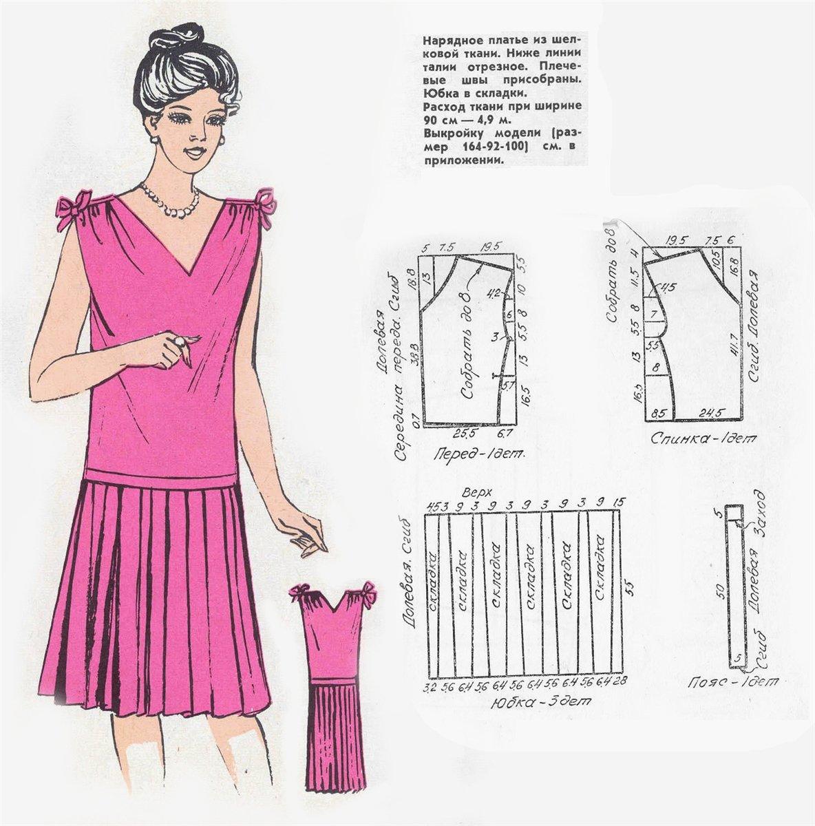 Как быстро сшить платье в домашних условиях