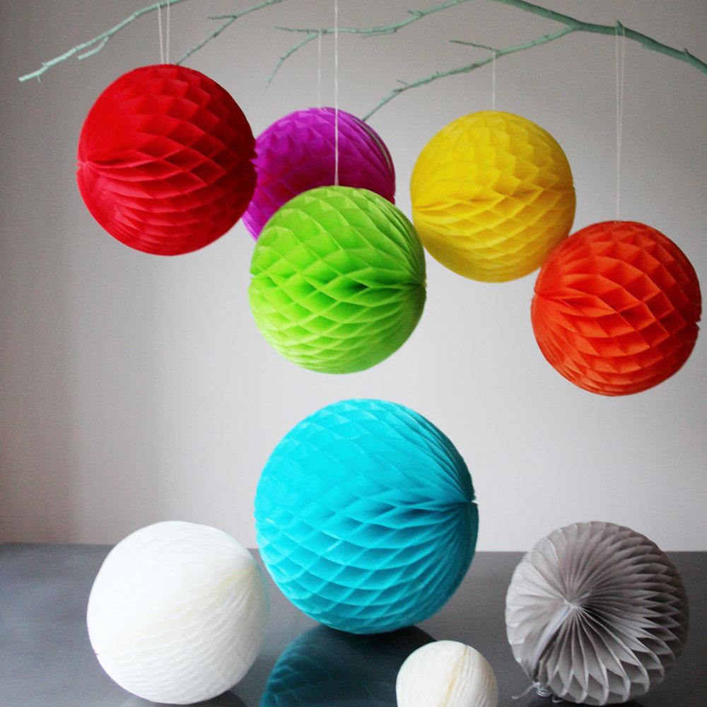 Объемные шарики своими руками 81