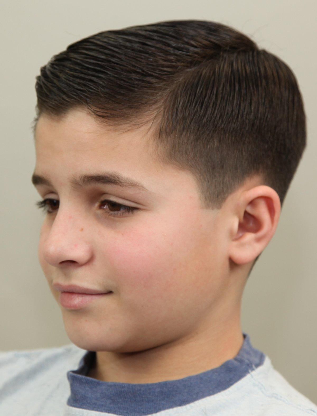 Стрижки для мальчиков 8-12 лет и подростков 20