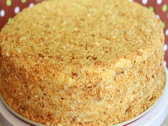 Как приготовить наполеон торт в домашних условиях фото пошагово 114