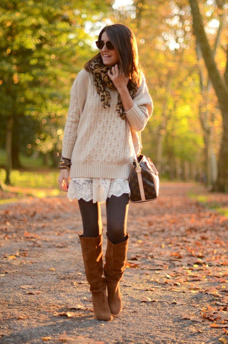 Стиль осень для девушек фото