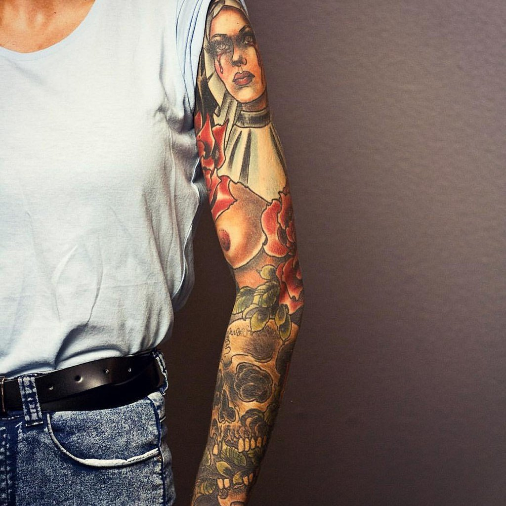 Татуировки рукава стили фото