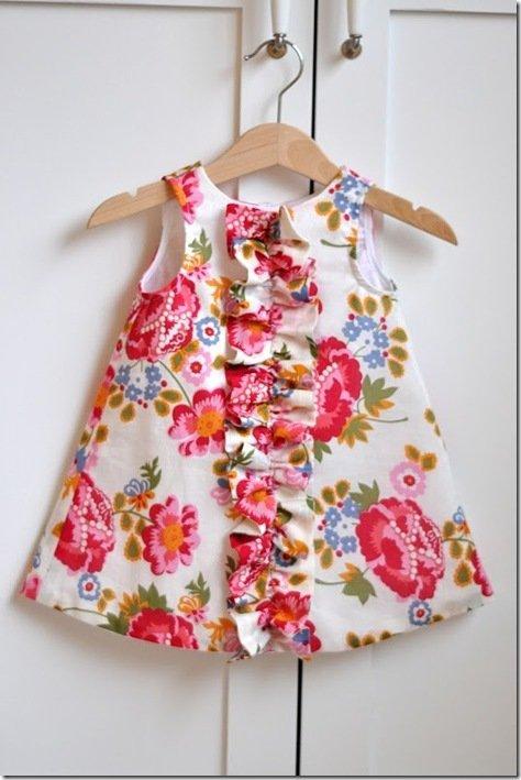Платье детское для начинающих