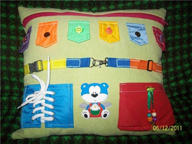 Развивающие подушки своими руками для детей фото 32