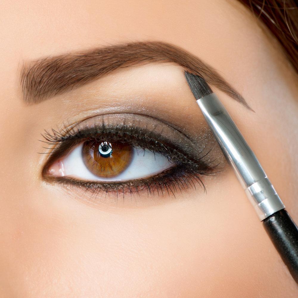 Как сделать брови карандашом поэтапно
