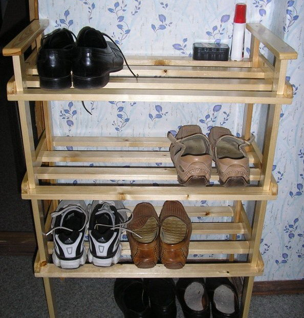 Подставка для туфель своими руками 96