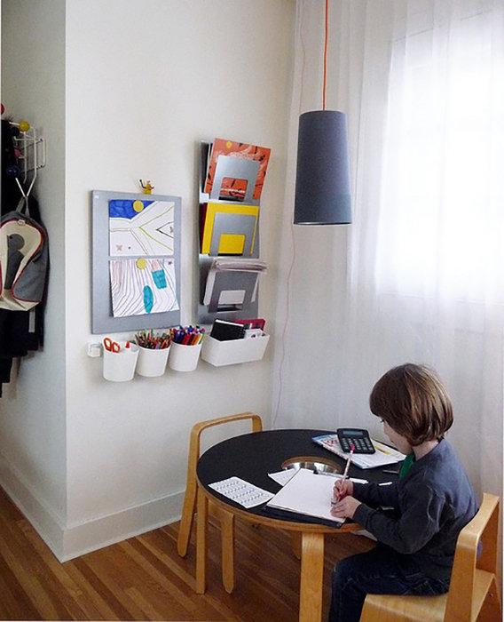Рабочее место ребенка своими руками