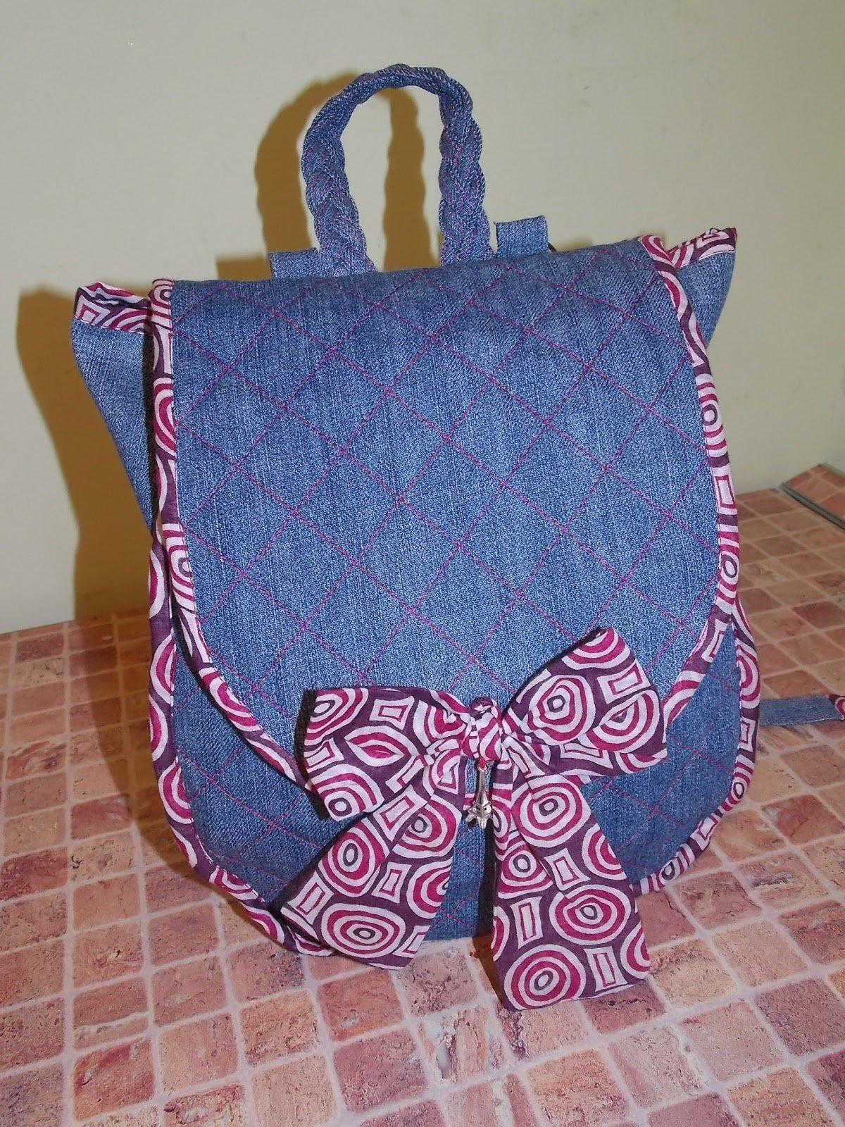 Рюкзак для мамы своими руками 83