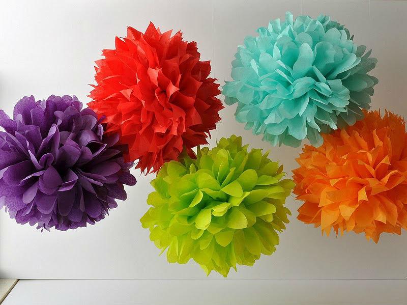 Как сделать цветок шар из бумаги своими руками