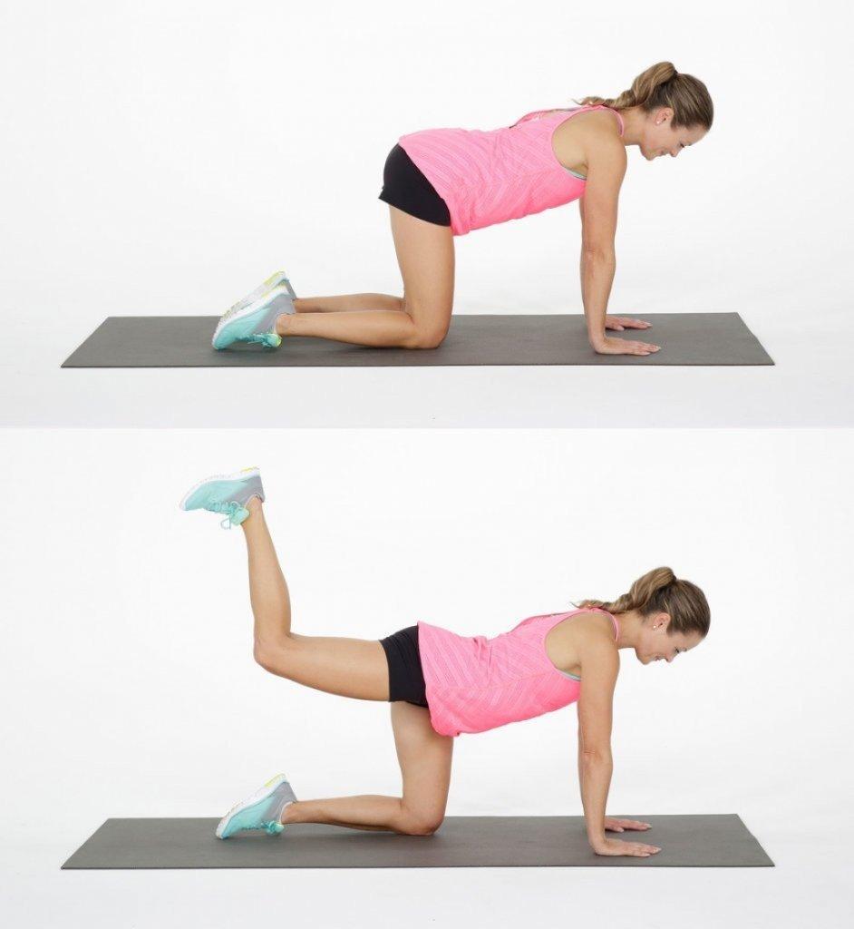 Упражнение для ног и ягодиц в домашних условиях фото