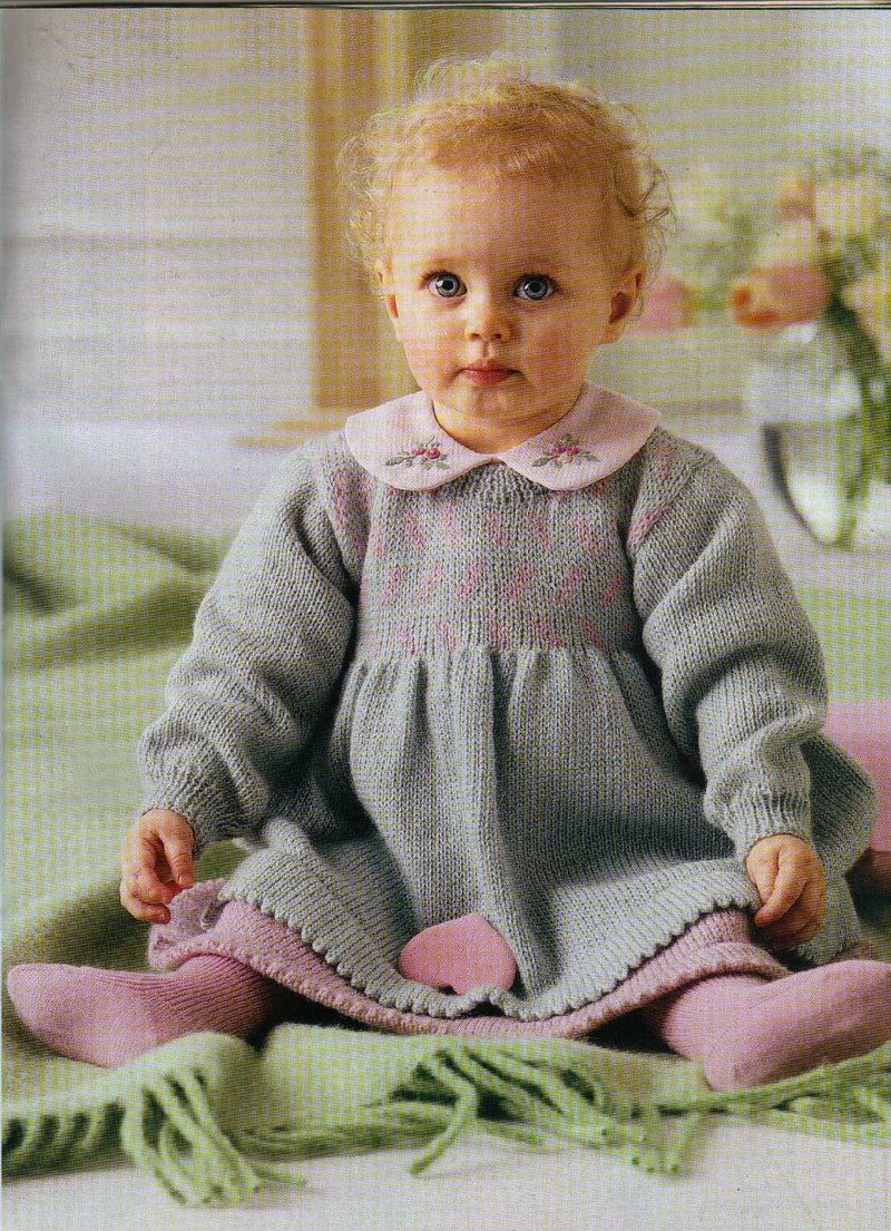 Детская вязаная одежда 2018 (49 фото красивые модели для детей) 21
