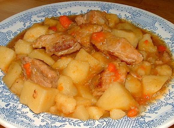 Картошка с мясом соус в мультиварке рецепты с фото