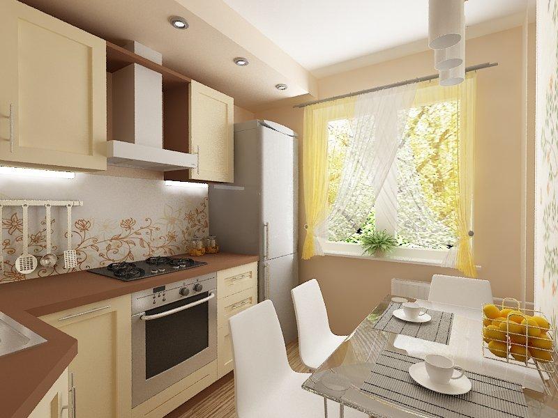 Фото ремонта кухни 6 квмв