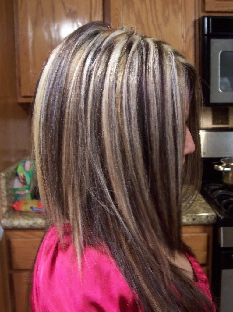 Стрижки на темные волосы с мелированием