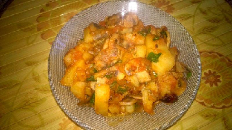 В мультиварке картошка с мясом быстро и вкусно рецепты