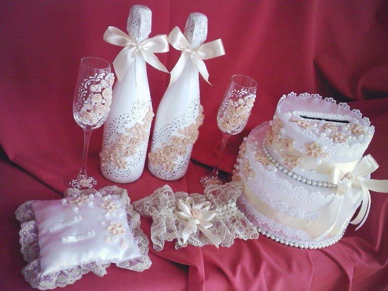 Свадебные аксессуары своими руками для фото 326
