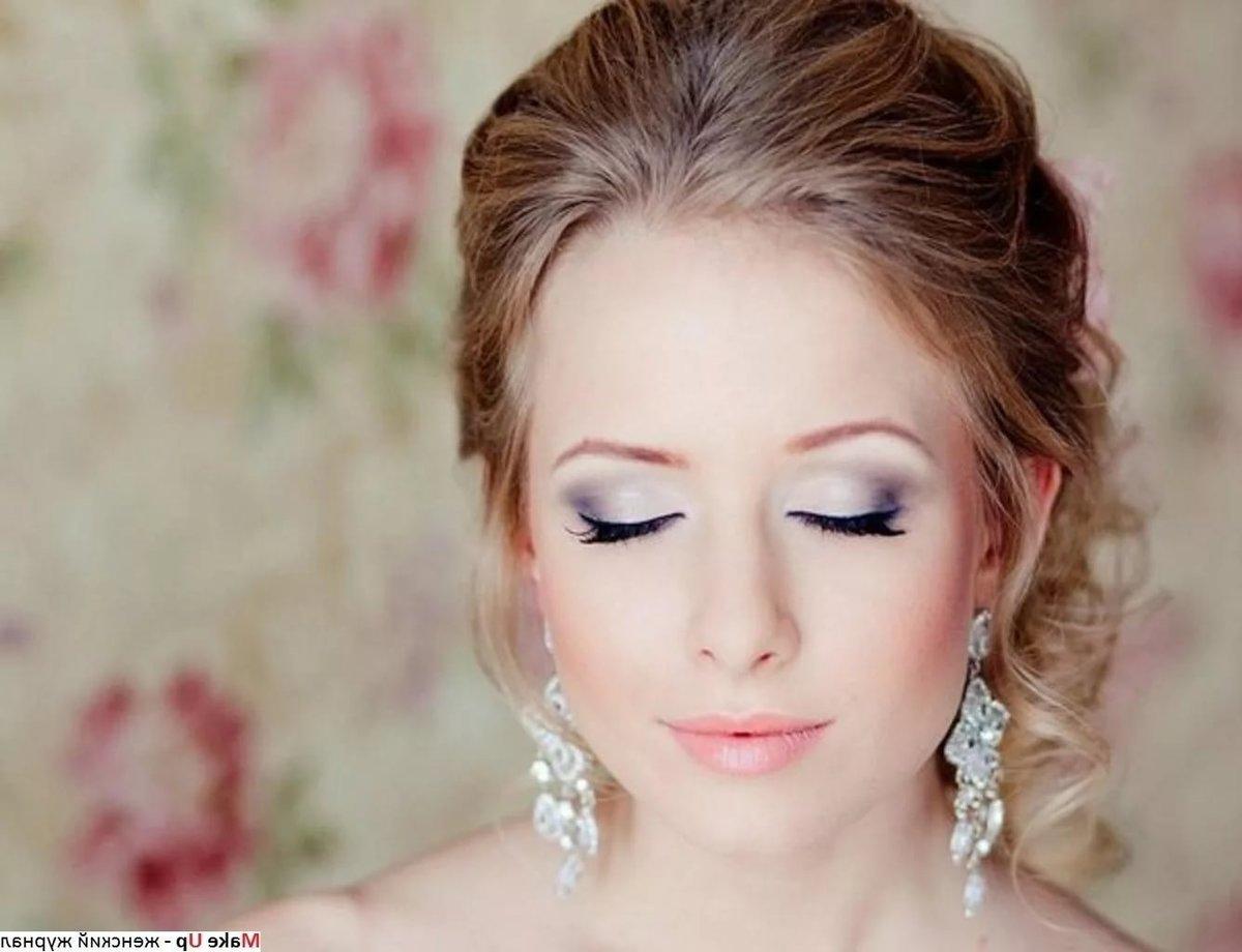 Фото накрашенных глаз на свадьбу