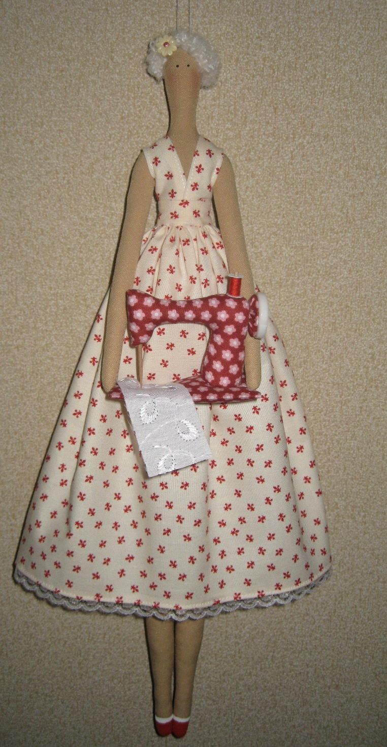 Сшить на машинке платье для куклы