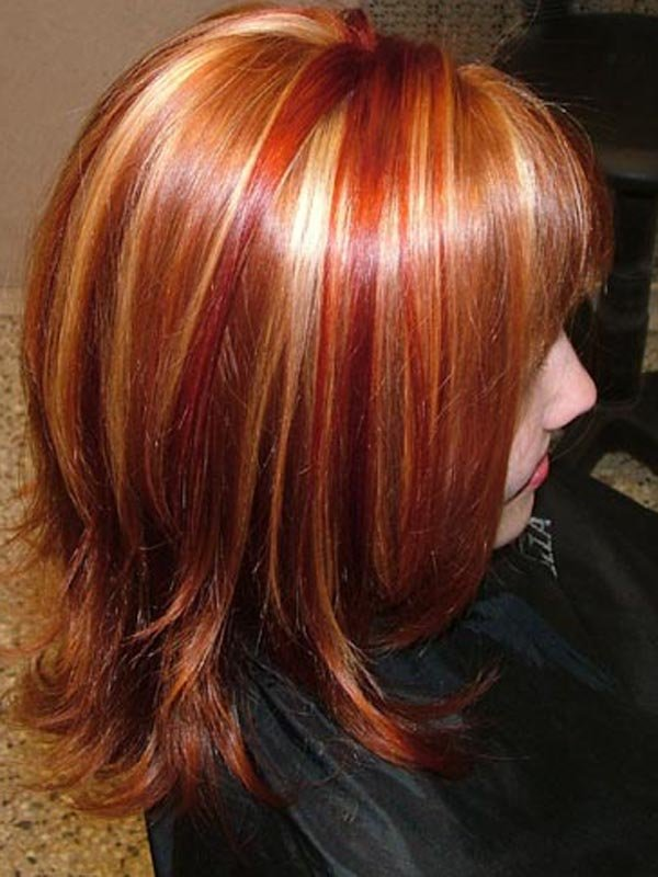 Колорирование волосы фото в домашних условиях 263