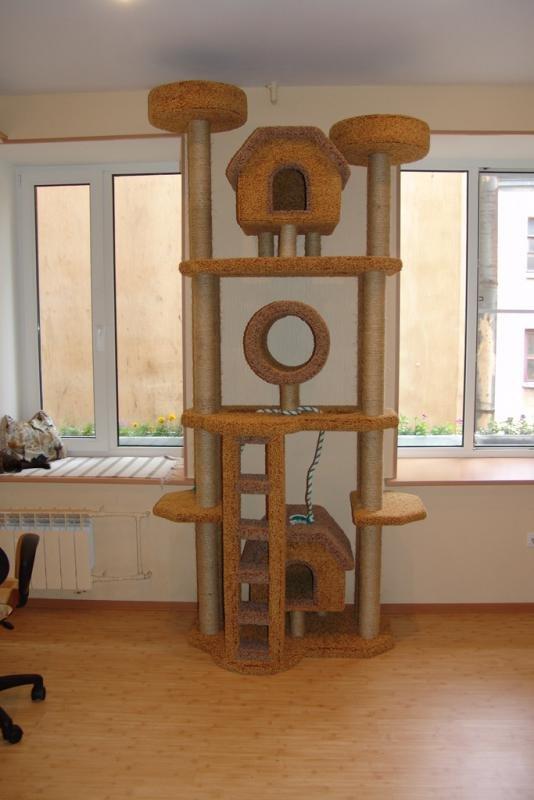 Как сделать для кошки свой уголок 306
