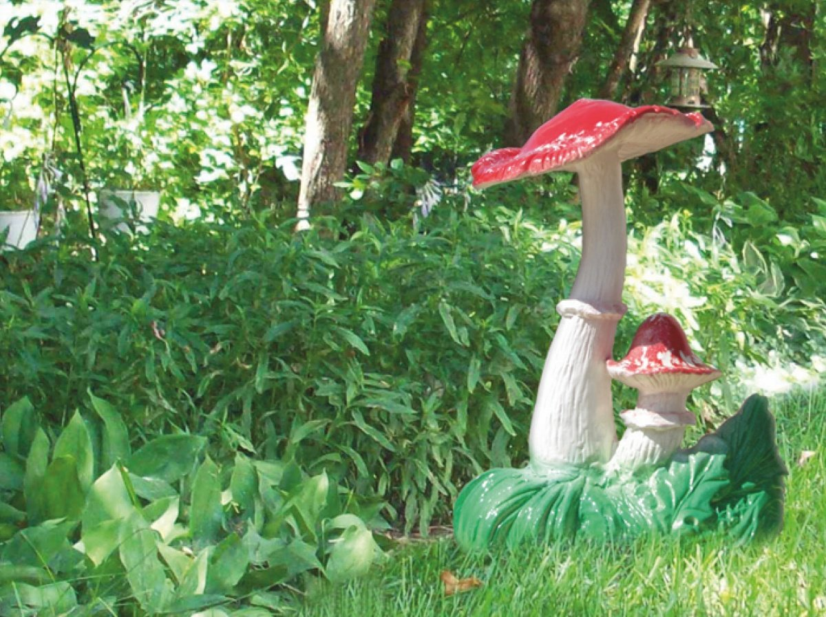 Как сделать садовую фигурку из гипса