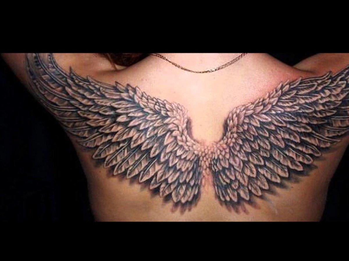 Тату крылья ангела фото и значение