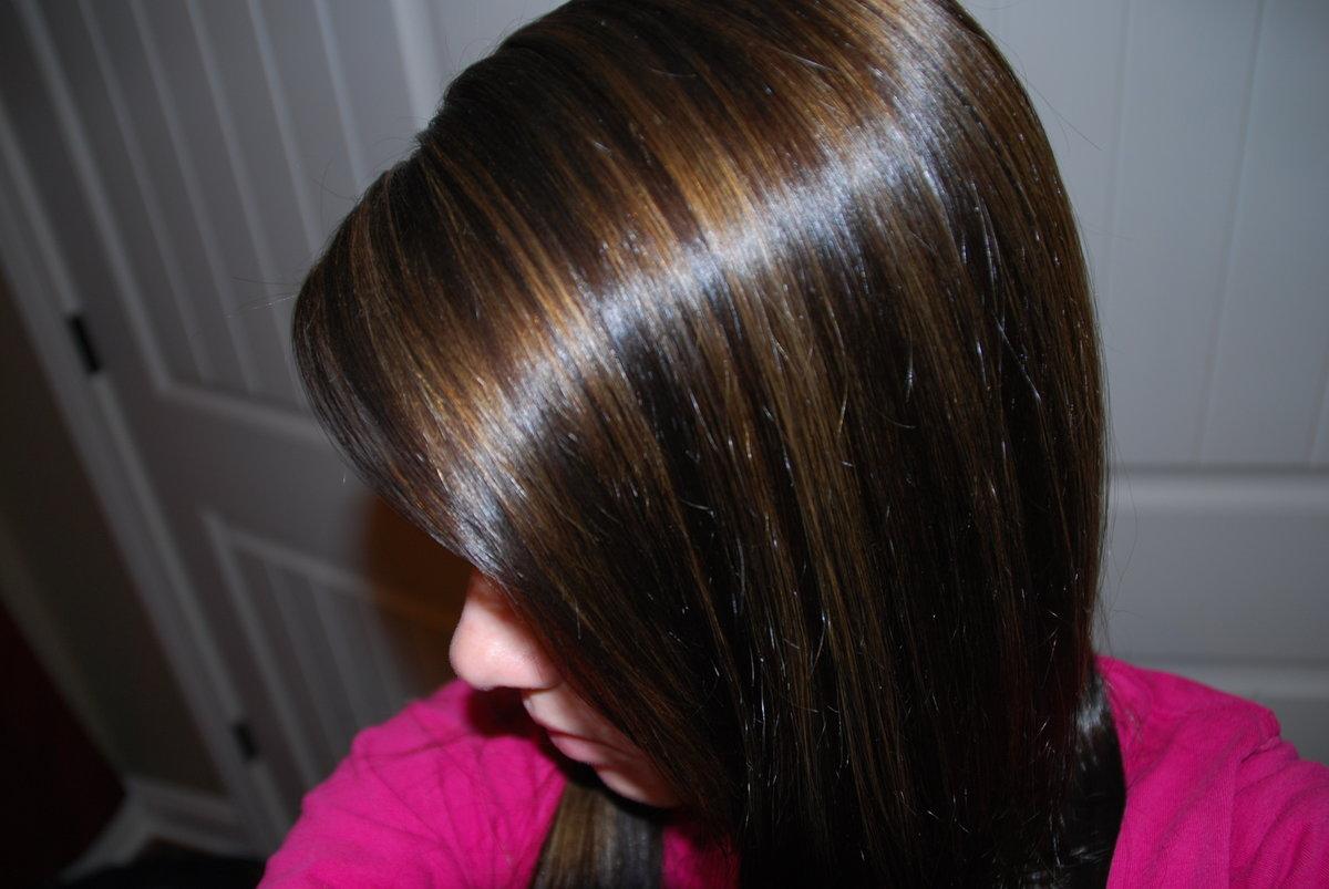 Как сделать мелирование на коричневых волосах 687
