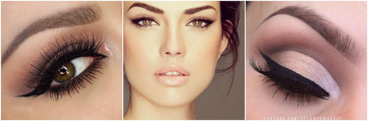 Идеи макияжа глаз со стрелками