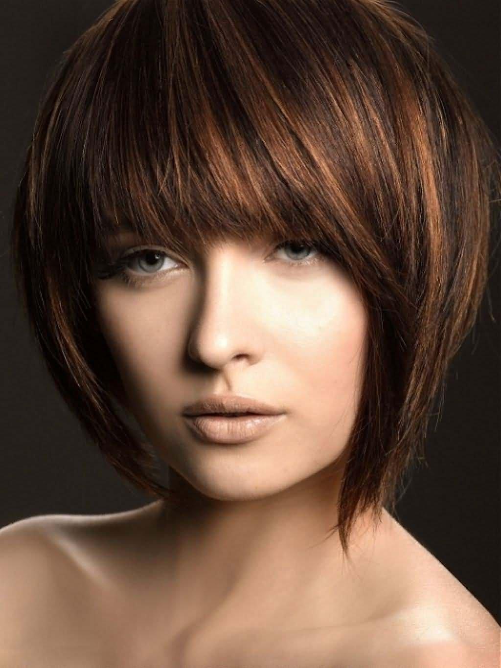 Стрижки сессон на средние волосы