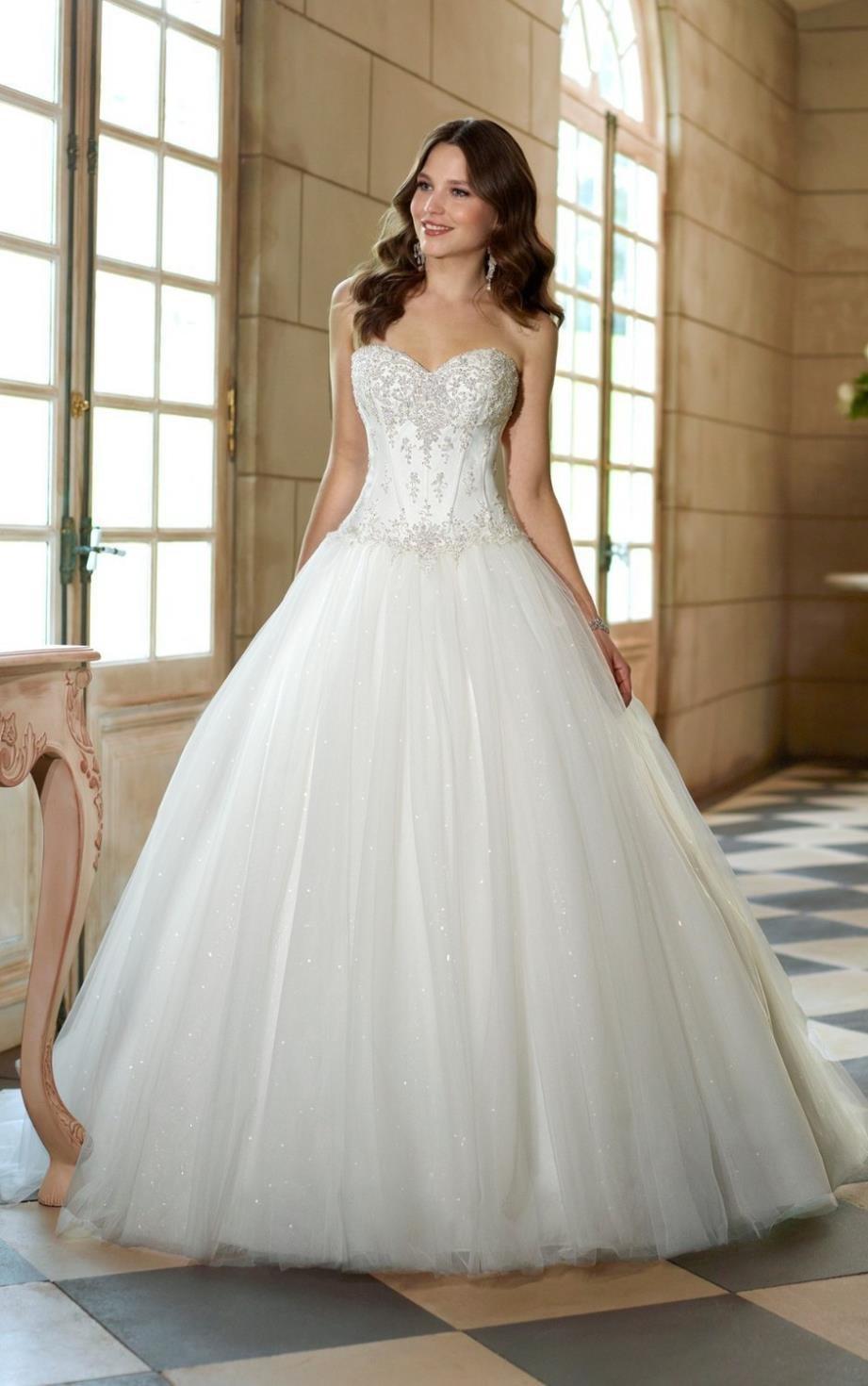 Свадебное платье пышное принцесса