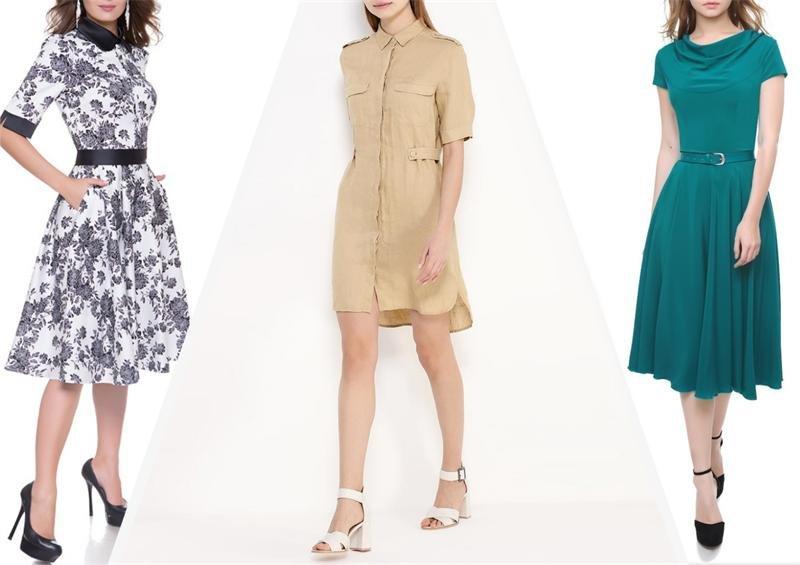 Летние платья 2017 для женщин за 40