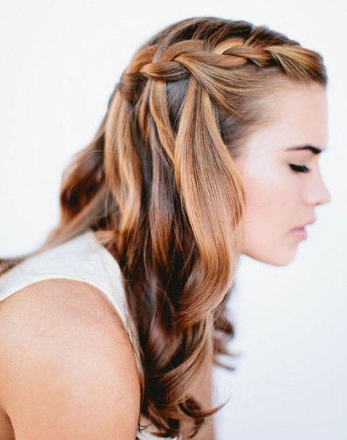 Идеи для причёсок с распущенными волосами