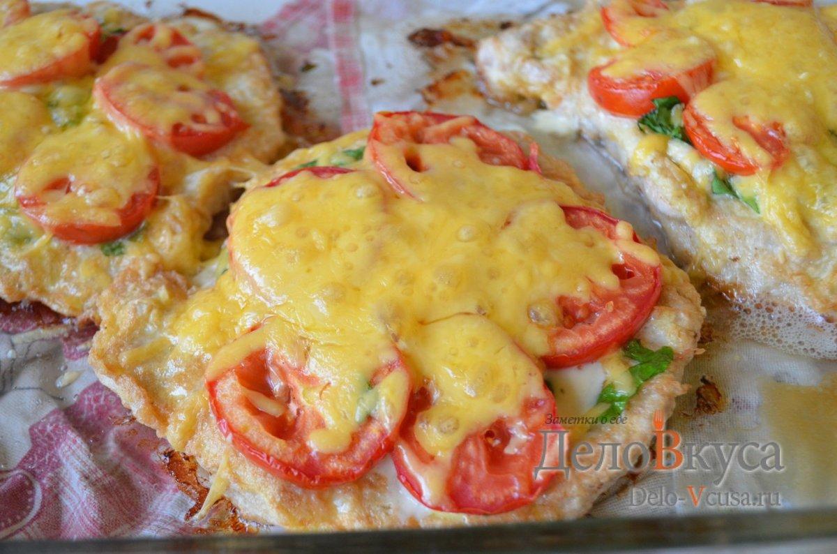 Перец с грибами и курицей в духовке рецепт