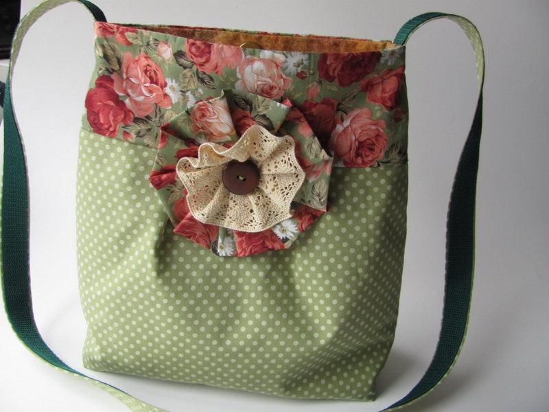 Текстильные сумочки для девочек